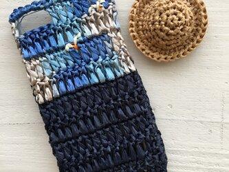iPhoneケース/カモメと海・ディープブルー《麦わらフォン》の画像