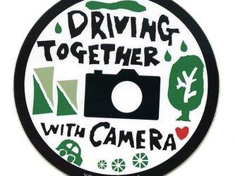 カメラ好きのためのカーステッカーの画像