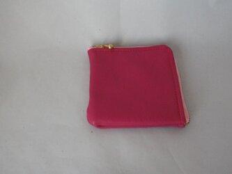 小銭入れに見える財布(すべてピンク)の画像
