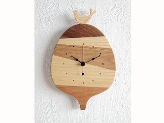 時計 森の記憶 round treeの画像