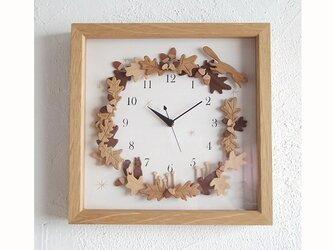 box clock オークの森の画像