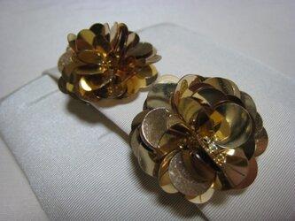 gold flower-Aの画像