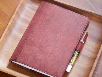 B6サイズ ノートカバー ペンホルダー付きの画像