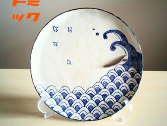 青海波乗大皿の画像