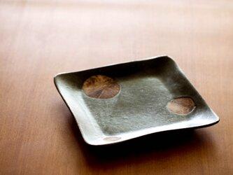 七寸角皿(planet)(K様ご予約品)の画像