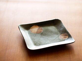 七寸角皿(planet)の画像