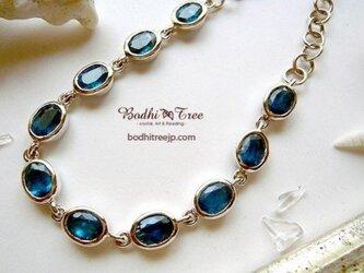 グリーンブルー・カイヤナイト(カヤナイト)SVブレスの画像