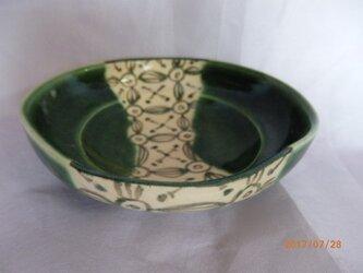 小鉢 織部風 グリーン系の画像