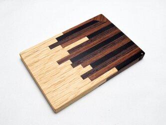 【寄木】木製名刺入れ/カードケースの画像