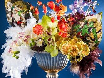 花遊び 風神・雷神の画像