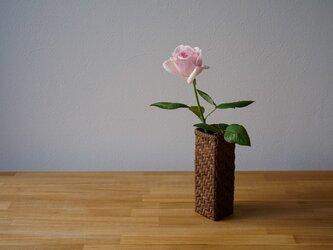山葡萄花器 網代5mmの画像