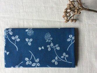 藍染め 手ぬぐい 「花降る日」の画像