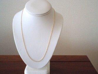 《50cm~55cm》ネックレス用 14kgfチェーン単品の画像