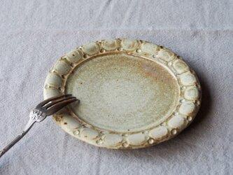 ケーキ皿(丸印) チタンベージュの画像