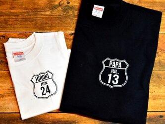 ROUTE Tシャツ★2色展開★70サイズ~大人サイズまで★お揃い☆家族写真にも*の画像