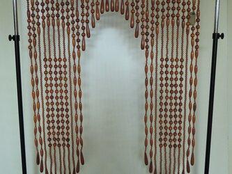木製玉のれん(1)の画像