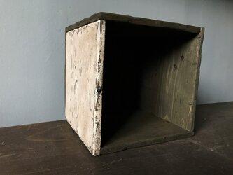 Square Box -1side white-の画像