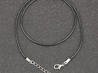 10本入り 革紐 ネックレス用 カニカン アジャスター付の画像
