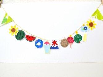 再販★楽しい夏の思い出~風物詩ガーランドの画像