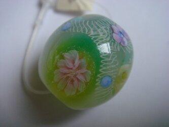 とんぼ玉(花窓)の画像