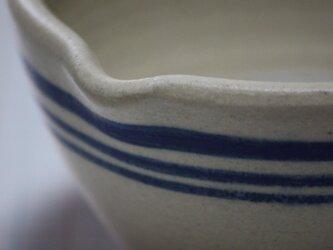 青ラインの空砂釉の器の画像