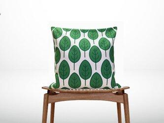 森のクッション green leaf Type Aの画像