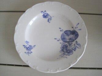 朝顔のお皿の画像