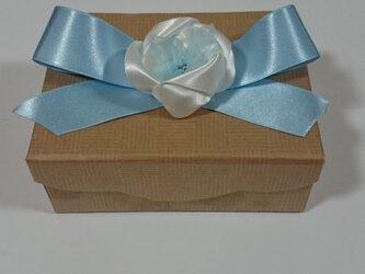 ギフトボックス(ブルー)の画像