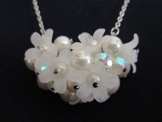 花籠ネックレスの画像