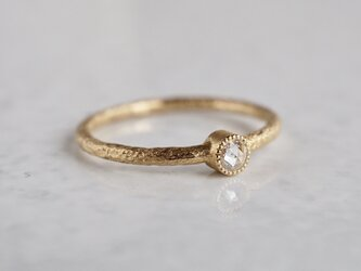 Diamond one stone ring [R050K10DM®]の画像