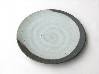 炭化とろりの尺皿 1点のみ の画像