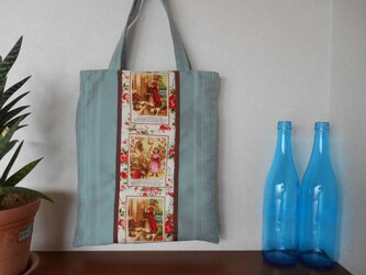 赤ずきんちゃんの手提げバッグの画像