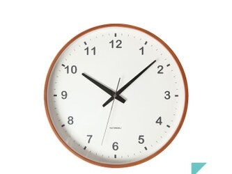KATOMOKU plywood wall clock km-36Lの画像