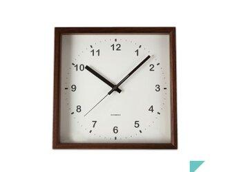 KATOMOKU muku square wall clock km-37Bの画像