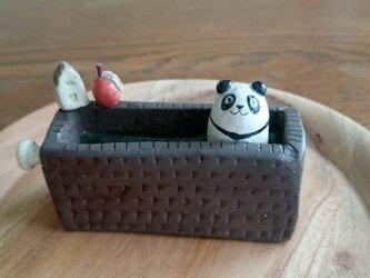 パンダの置物~panda bear ornament~の画像