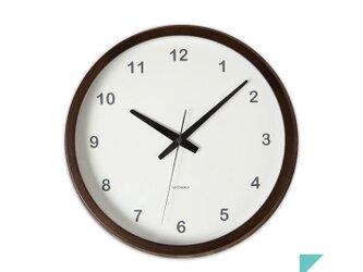 KATOMOKU muku round wall clock km-31Bの画像