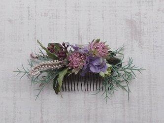 ボタニカル ヘアコーム (chic purple)の画像