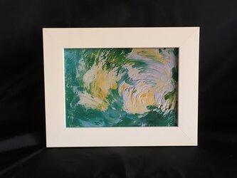 No.11 Ten-Keiの油絵の 複製プリント フレーム入りの画像