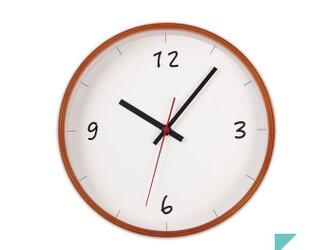 KATOMOKU plywood wall clock 6 km-52LBの画像