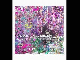 春の子犬【A4サイズ】の画像