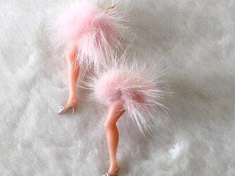 セクシーな足ピアス(ピンク)の画像