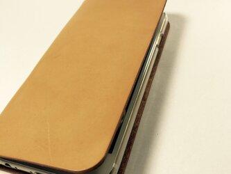 革のiphone 4.7インチ用 sweet(左利き用変更可)の画像