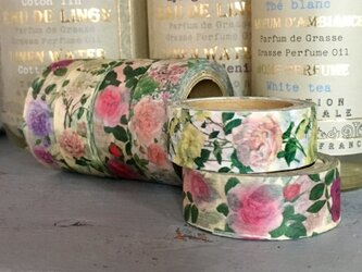 薔薇・バラ・ローズ・rose…  全て薔薇のmaskingtape 6setの画像