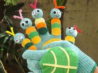 キャベツの中から 手遊びセット(お話し手袋)の画像