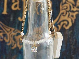 海の泡アンクレット(きらめきカラー)の画像
