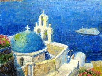 南エーゲ海の美しい「青」の画像