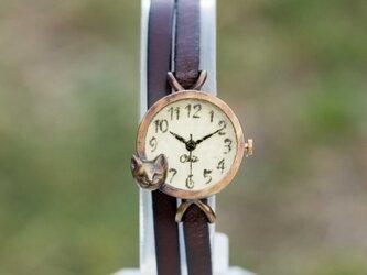 夢見る子猫腕時計SSレモンの画像