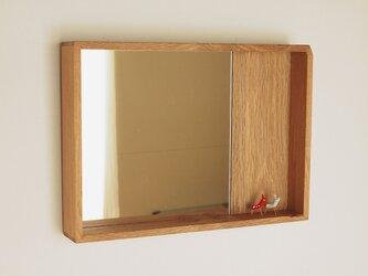 はこ鏡 楢材1の画像