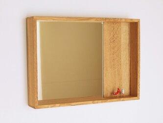 はこ鏡 楢材2の画像
