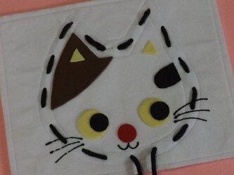 ひも通しのおけいこ(ネコ)の画像
